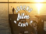 Jugendfilmcamp am Arendsee im Sonnenuntergang