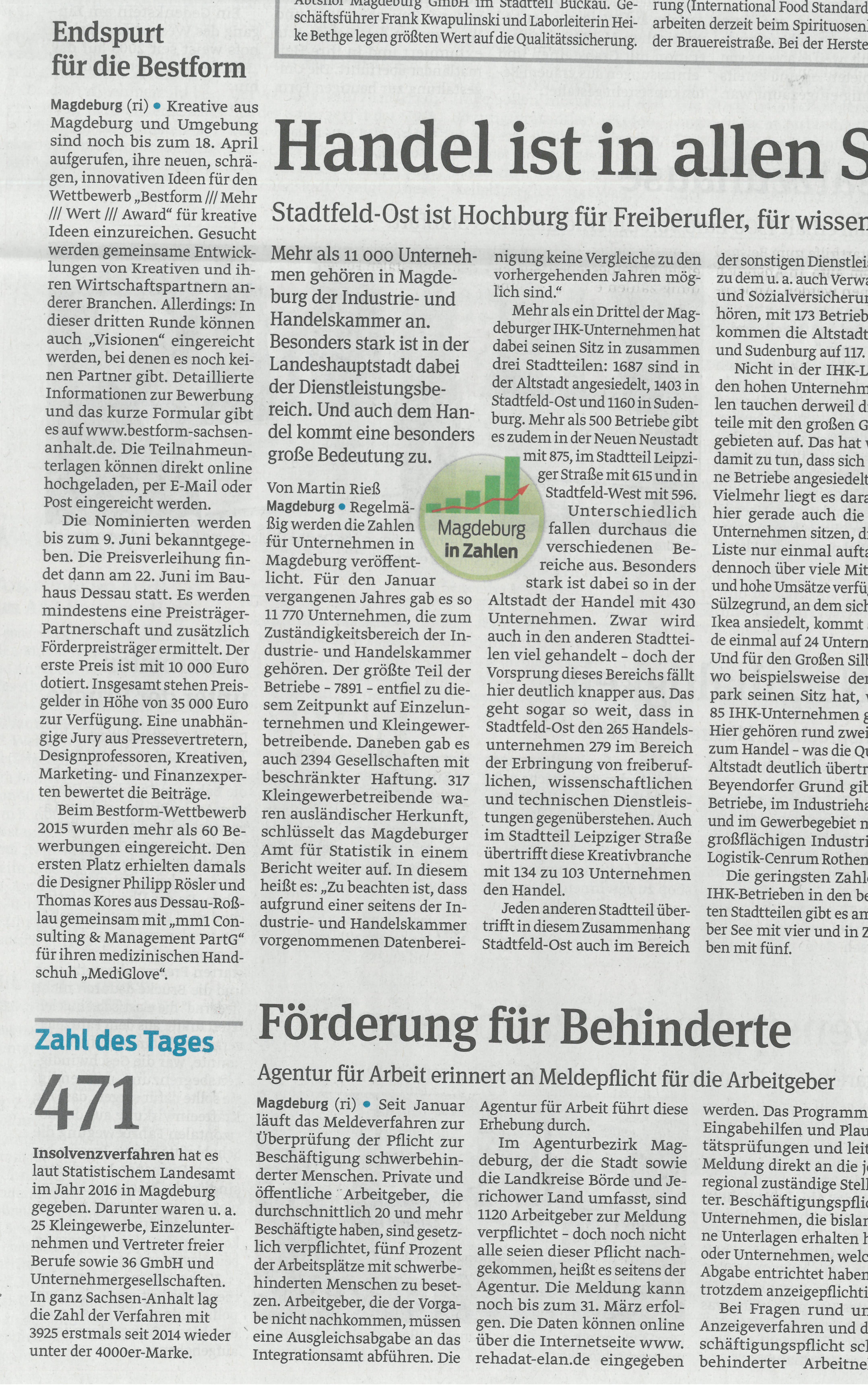 Kreativwirtschaft sachsen anhalt pressespiegel for Spiegel redaktion