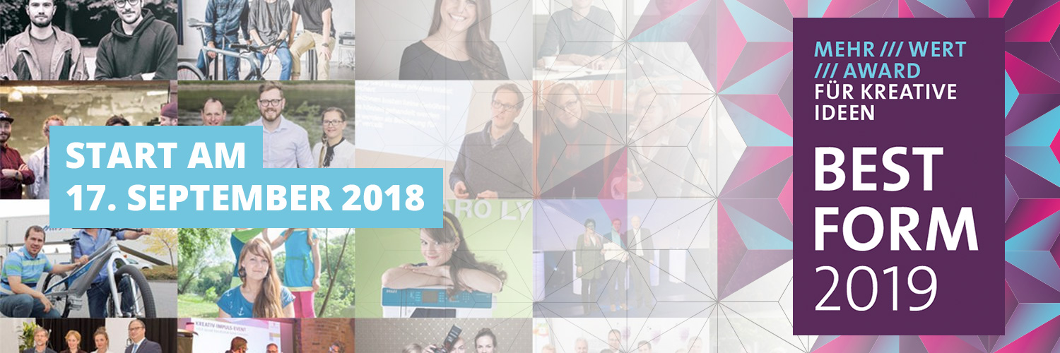 Banner für BESTFORM 2019 - Save the Date